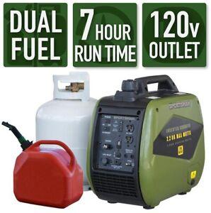 Gasoline Powered Recoil Start Portable Digital Inverter Generator 2200-Watt