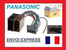 ADAPTATEUR FAISCEAU CABLE ISO AUTORADIO POUR PANASONIC CQ-C110VN C1001NW
