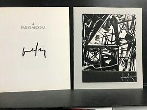 FB28 BOLAFFI ARTE fotolitografia numerata firmata - 4 EMILIO VEDOVA