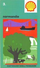 Cartolina Stradale collector - Cartoguide SHELL Francese - Normandie N° 3
