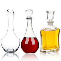 Sherry Wine Whiskey Liquer Decanter Glass Carafe Christmas Wedding Gift Boxed