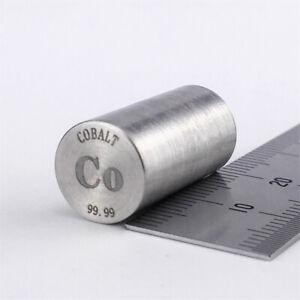Cobalt Metal Rod 99.99% 14grams 10diameter x 20mm length Element Co Specimen