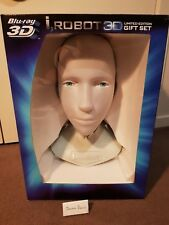 I, Robot 3d bluray limited edition gift set with 1:1 sonny robot replica bust