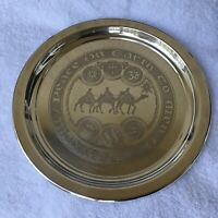 Towle Sterling Christmas 1972 Plate - Limited Edition 340/2500