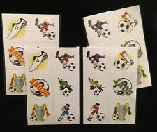 Football Temporary Tattoo - 24 Tattoos For Party Bags, Prizes, Stocking Fillers