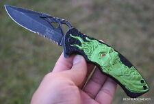 DARK SIDE BLADES FANTASY SPRING ASSISTED KNIFE WITH POCKET CLIP