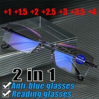 New Reading Gaming Anti Blue Light Block Eye Protection Computer Glasses Goggles