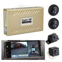 1080P Vogelperspektive Auto Einparkhilfe 4 Kamera Recorder Schock Sensor Alarm