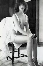 Anicee Alvina Silver Gelatin Photo Print 10x15 Erotikfilm SW B&W Nude 70er 80er