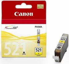 Genuine Canon CLI-521Y Yellow Ink Cartridge for Pixma MP540 MP550 MP560