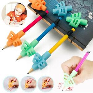 3PCS Practical Pen Pencil Holder Kids Writing Aid Grip Posture Correction Tools