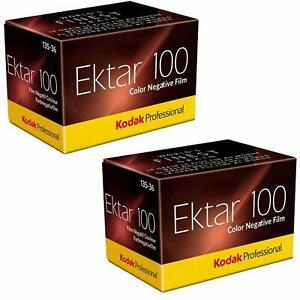 KODAK EKTAR 100  36 Aufn. Kleinbildfilm   2 Filme  MHD/expiry date  04/2022