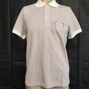 Burberry London Men's Pink Slim Fit Polo Shirt Size M