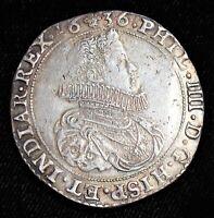 Spanish Netherlands: Felipe IV of Spain Ducaton 1636. XF.
