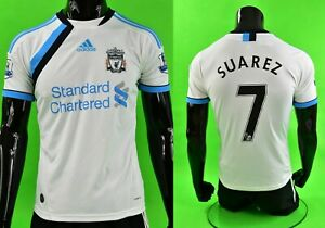 The Reds 2011-12 adidas Liverpool FC Away 3rd Shirt SUAREZ YOUTH L.boys 160cm