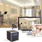 Wireless 1080P HD WIFI Camera Spy Clock Night Vision DVR Motion Video Nanny DV