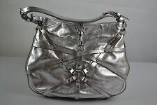 Diesel shibari Abendtasche Tasche Schultertasche cross body bag leather silver