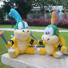"2X Super Mario Bros 3 Bowser Koopalings Larry & Lemmy Koopa 6"" Plush Toy Doll"