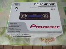 Autoradio CD-R / CD-RW Compatible Pioneer DEH-1400RB 45W x 4 avec notice