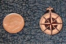 Disneyland Peter Pan Compass Never Land Map Mini Pin - Disney Pins