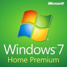 Microsoft Windows 7 home premium 32 Bit Full Version & Upgrade New