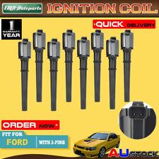 8x For Ford Falcon BA BF FG XR8 Mustang GT V8 5.4L 32V Ignition Coils