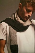 Three Tone Scarf Knitting Pattern