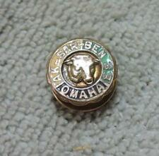 Antique 1933 Aksarben Ak-Sar-Ben Horse Racing Omaha Membership Lapel Pin