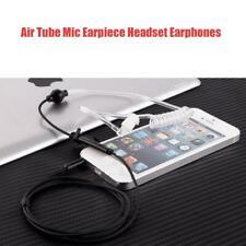 ae75e783305 3.5mm Covert Acoustic Air Tube Headset Earpiece MIC & PTT for Phones ...