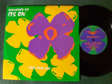 "FLOWERED UP: It's on (feel pain mix) - 25 cm 10"" ONE SIDED EP - HEAVENLY UK"
