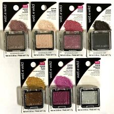 Wet n Wild Eye Shadow Creme Brulee  Nutty Cheeky Groupie & Others Lot of 7