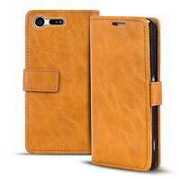 Handy Tasche Hülle Sony Xperia X Compact Case Klapphülle PU Leder Wallet Cover