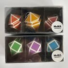 MUSEUM OF MODERN ART MOMA PAPER LANTERN ORNAMENTS - SET OF 6 IN BOX