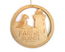 Origin Northumberland Farne Islands and Puffin Home Decoration, Holiday Keepsake