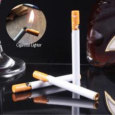 Mini Alloy Windproof Gift Butane Slim Cigarette Lighter Metal Festival Portable