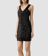 £298 All Saints Shia Sequin/Embellished/Beaded Dress UK 12 BNWT
