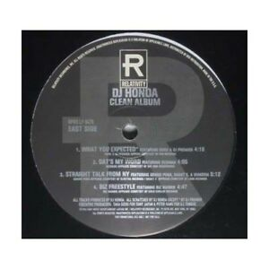 Dj Honda - Dj Honda Clean Album (Vinyl - 1996)