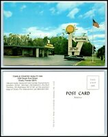 FLORIDA Postcard - Ocala, Town & Country Quality Inn Motel H48