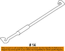 Jeep CHRYSLER OEM 08-16 Compass Hood-Support Prop Rod 5160367AC