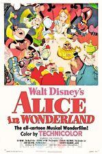 Poster A3 Alicia En El Pais De Las Maravillas / Alice in Wonderland Pelicula 03