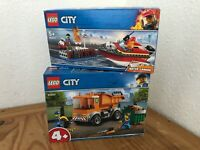 NEW LEGO City Bundle - Water Cannon 60213 and Garbage Truck 60220