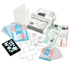 Big Shot Express Sizzix Starter Kit Nuovissima Versione elettrica 8 Moosgummi