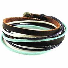 Bracelet Cuff Sl2284 By Bracelets For Soft Leather Wrap Multicolour Ropes Women