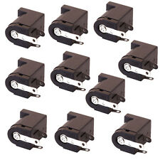 10pcs DC Power Jack Socket 2.1mm Barrel-Type PCB Mount New