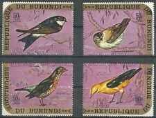 Timbres Oiseaux Burundi PA174/7 ** lot 19343