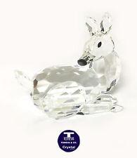 "[NEW] ""Reindeer Sitting"" Austrian Crystal Figurine"