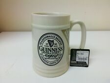 More details for guinness 2011 collectors edition ceramic tankard 13.5 cm tall - free p&p