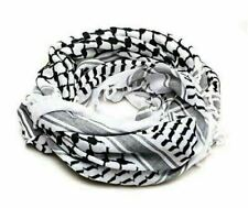 New Original Hirbawi Palestinian Arab Keffiyeh Shemagh Arafat 100% Cotton Unisex