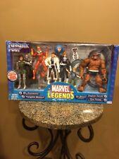 2003 ToyBiz - FANTASTIC FOUR 4 - Marvel Legends Figure SEALED Box Set MISB