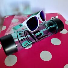 Victorias Secret  by Pink 24 oz Clear Travel Tumbler With Sunglass NWT